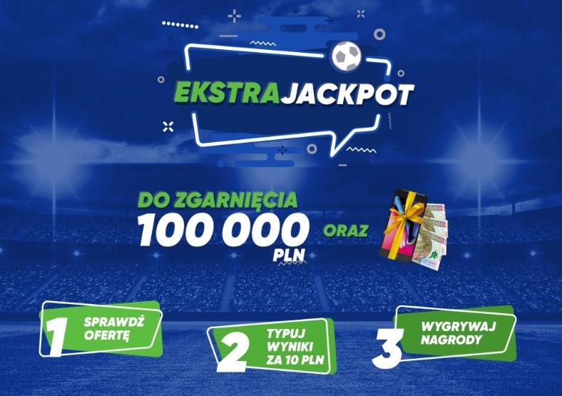 100.000 PLN za wytypowanie wyników Ekstraklasy? Tu szczęście się przyda!