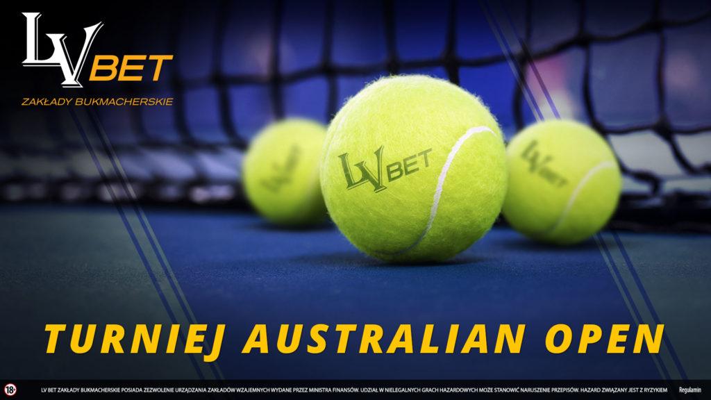 Typerski konkurs na Australian Open w LV BET!