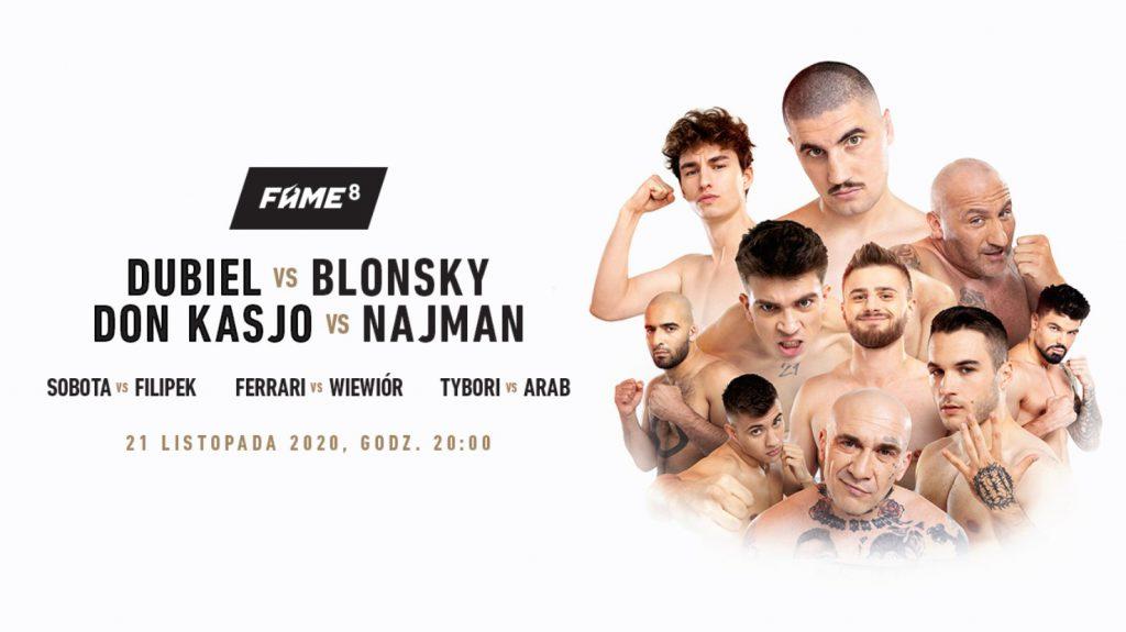 Jak obstawiać walki Fame MMA 8 w internecie?